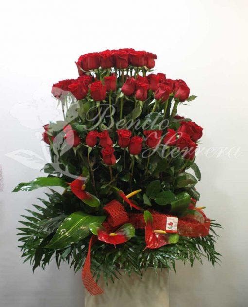 centro de rosas 3