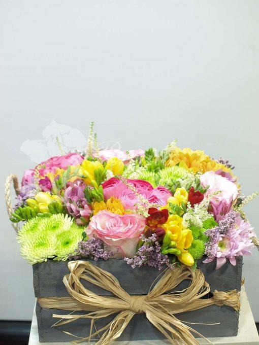 Caja de flores primavera 2