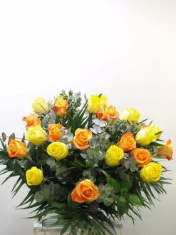 Ramo rosas dos colores 5