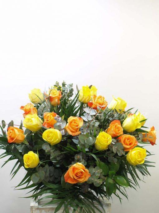 Ramo rosas dos colores 4