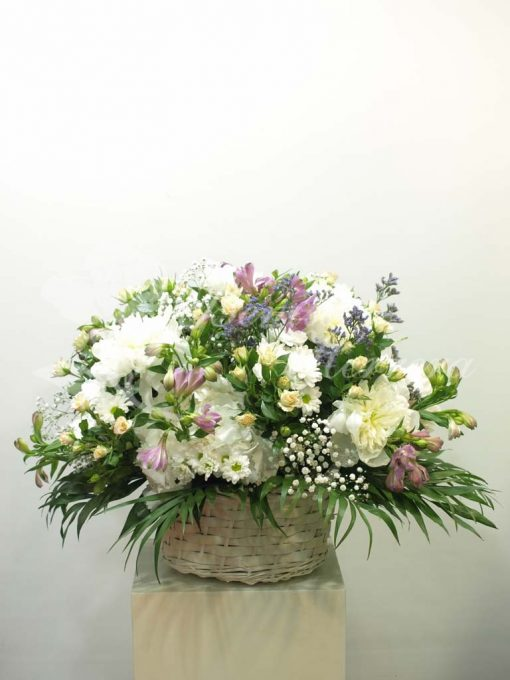 Cesta de flor 3