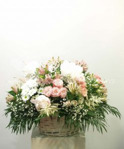 Cesta de flor 7