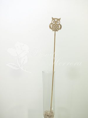 Oveja pincho de madera para añadir a tu ramo. 4