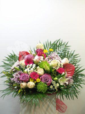 bouquet de flores multicolor 1