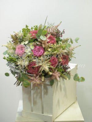 Bouquet romántico de novia 6