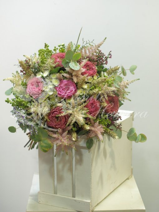 Bouquet romántico de novia 3