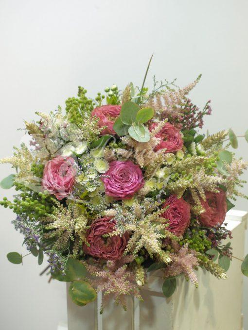 Bouquet romántico de novia 4
