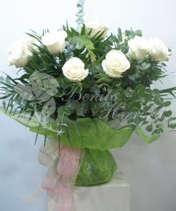 Rosas con envoltorio especial 3