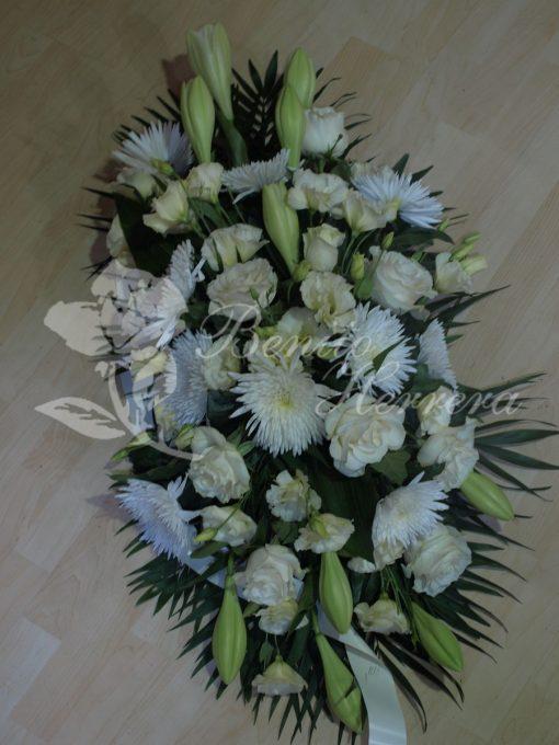 Centro funerario blanco 3