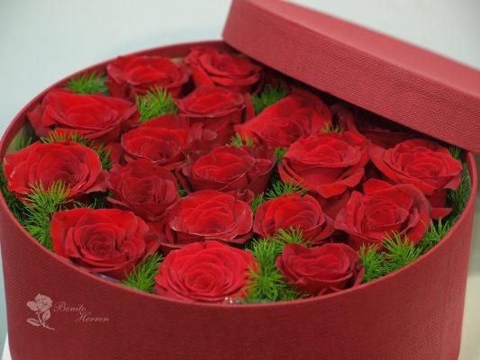 caja de rosas 6
