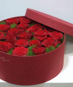 caja de rosas 5